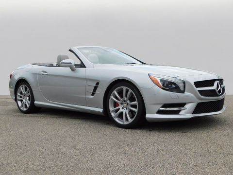 Certified Pre-Owned 2013 Mercedes-Benz SL SL 550