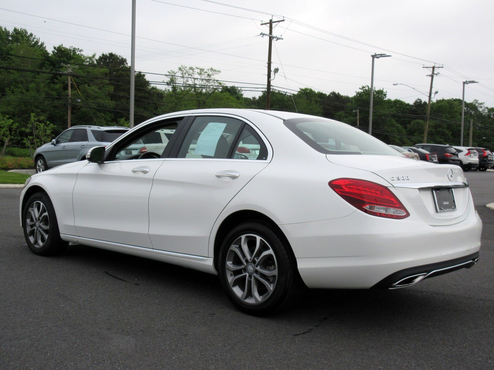 Pre Owned 2015 Mercedes Benz C Class C 300 4D Sedan in West Chester
