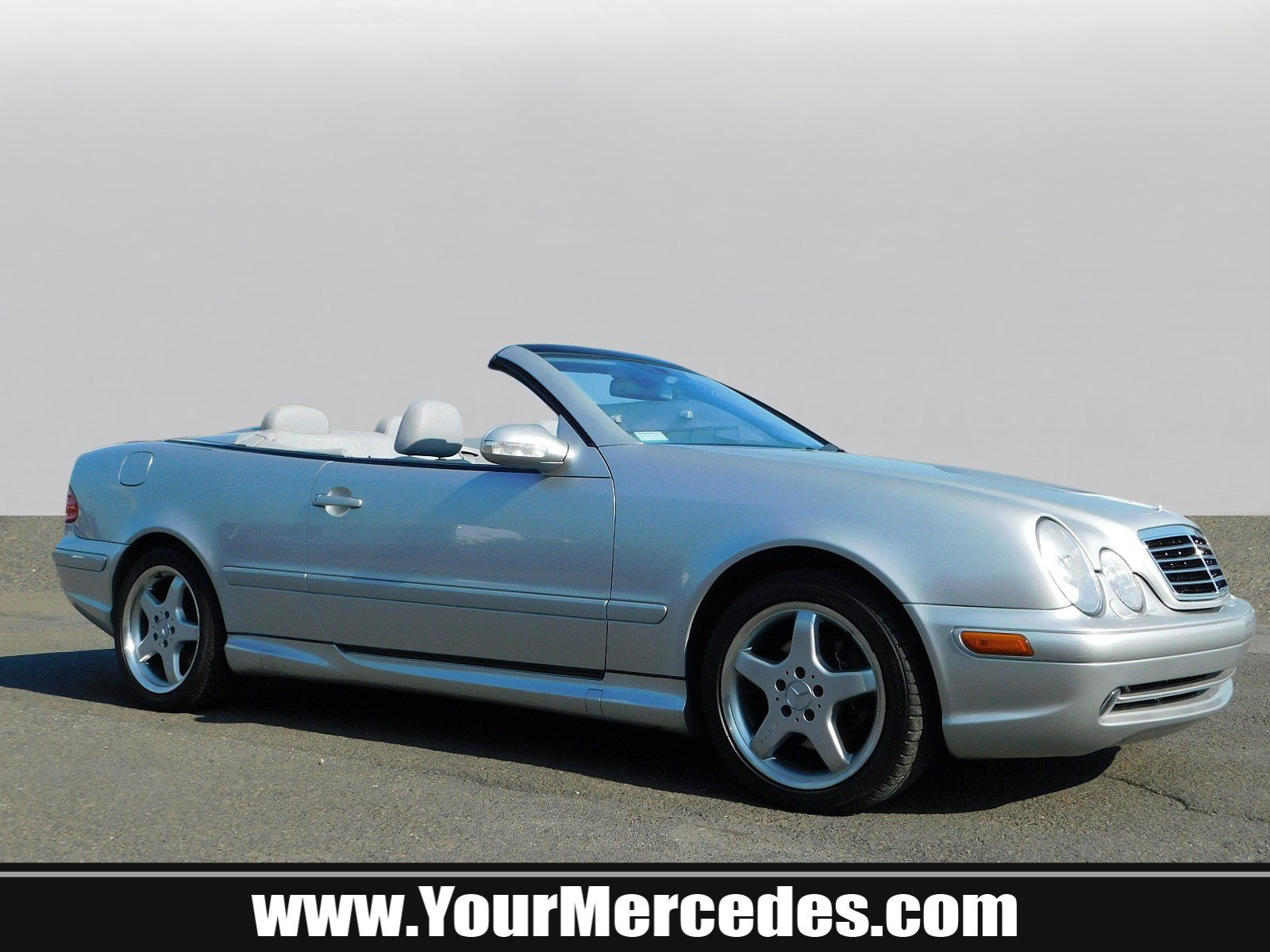 Pre Owned 2003 Mercedes Benz CLK CLK 430 2D Convertible in West