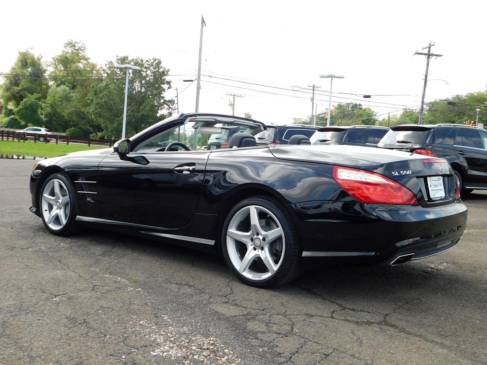 Certified Pre Owned 2015 Mercedes Benz SL SL 550 2D Convertible in