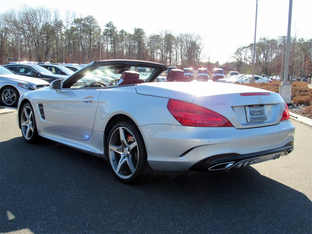 Certified Pre-Owned 2017 Mercedes-Benz SL-Class SL 550