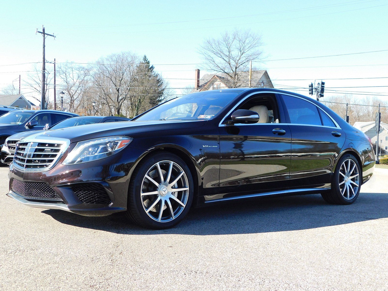 Certified Pre Owned 2015 Mercedes Benz S Class S 63 AMG 4D Sedan in