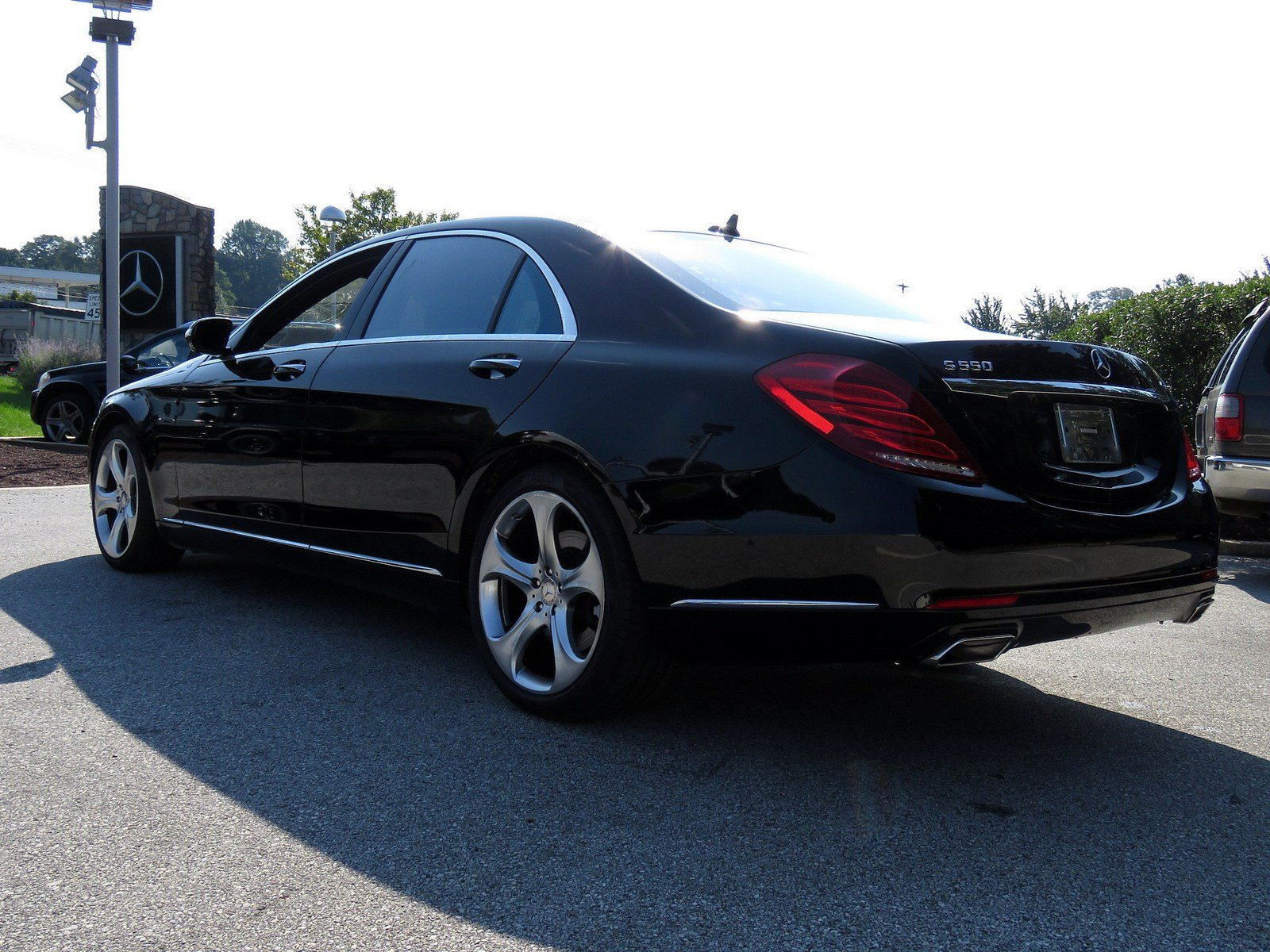 Certified Pre Owned 2015 Mercedes Benz S Class S 550 4dr Car in West