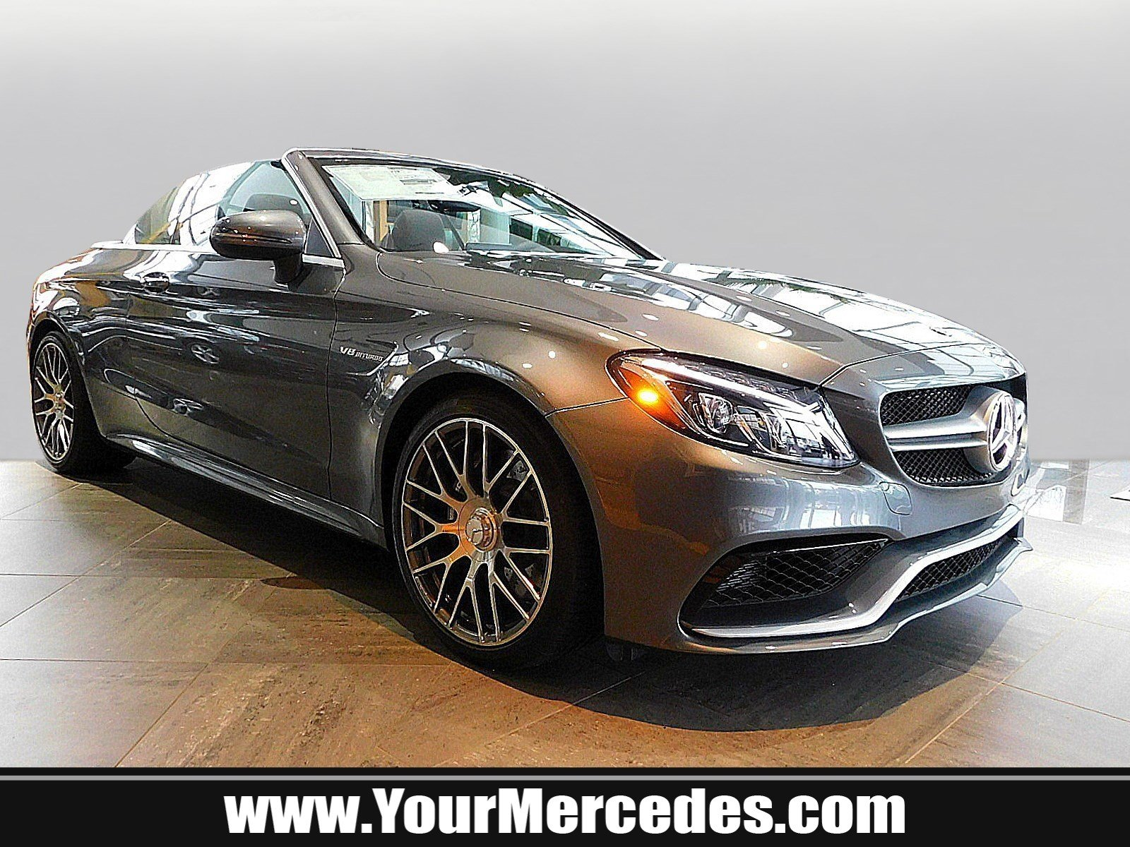 New 2018 Mercedes Benz C Class AMG C 63 Cabriolet CABRIOLET in West