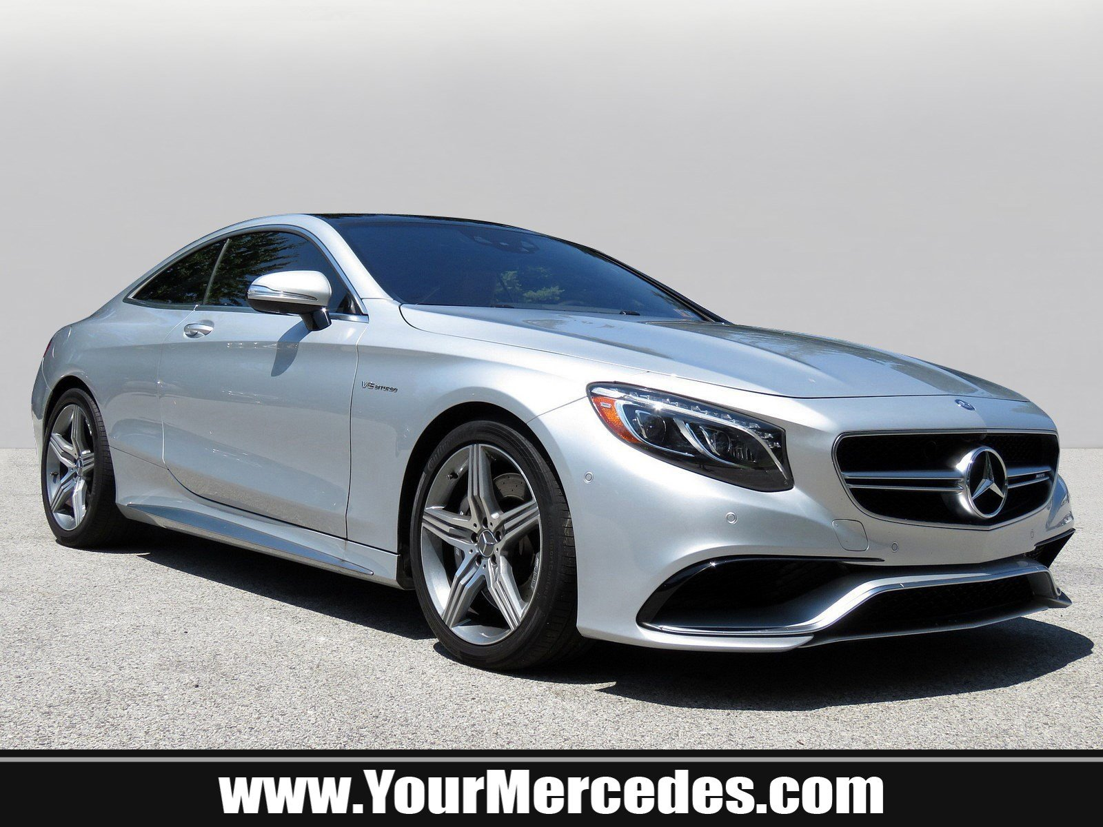 Pre Owned 2015 Mercedes Benz S Class AMG S 63 Coupe Coupe in West