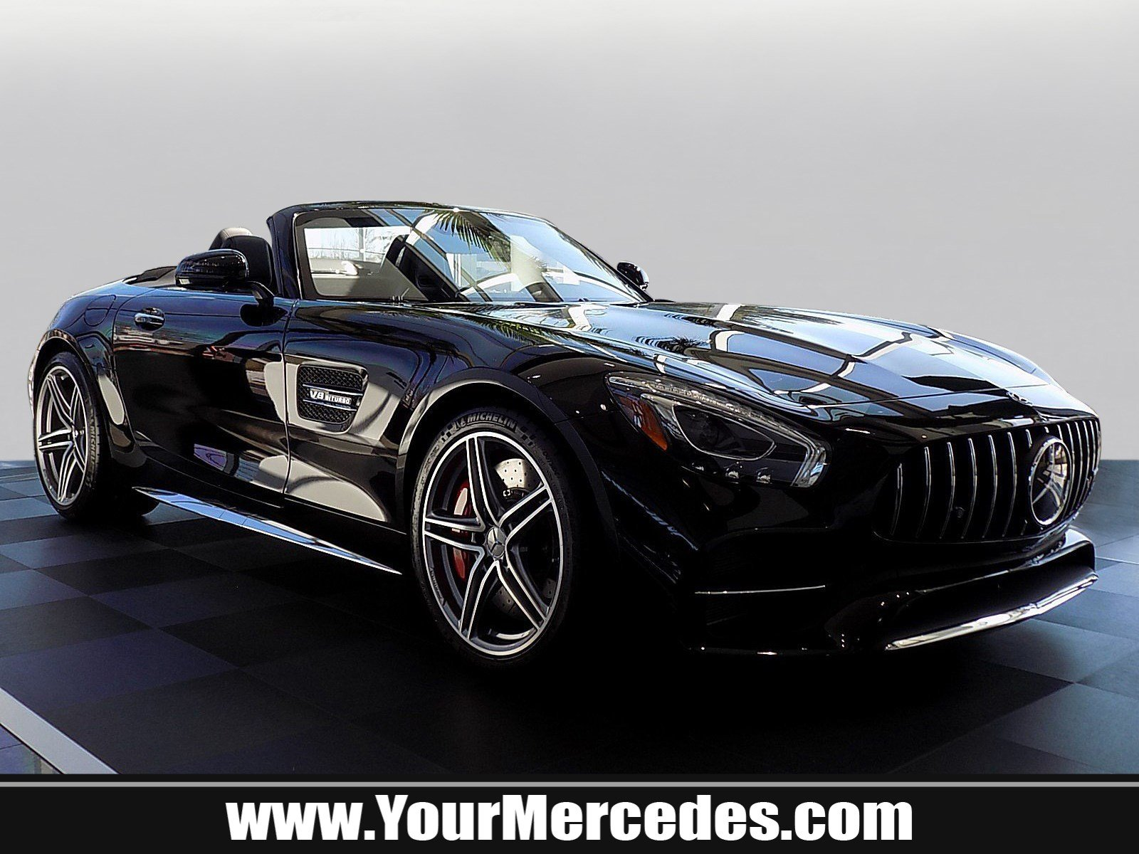 New 2018 Mercedes-Benz AMG® GT AMG® GT C Convertible in ...