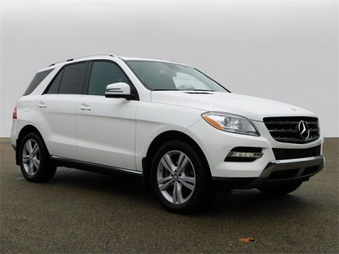 Certified Pre-Owned 2015 Mercedes-Benz M-Class ML 350